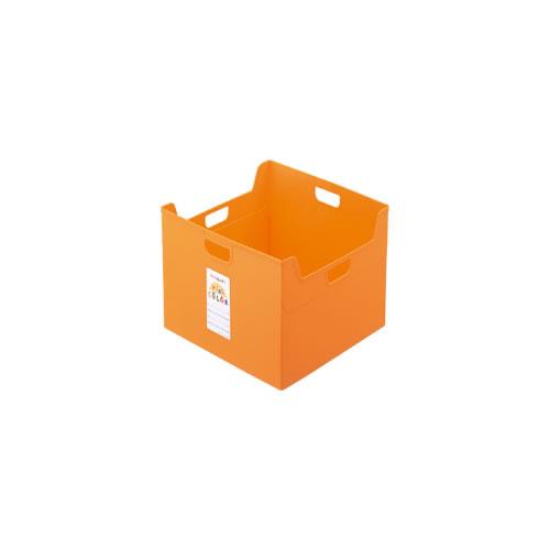 ナカバヤシ セラピーキッズカラー ファイルボックス A4ダブル キッズオレンジ フボ-TCW5-KO / 12セット