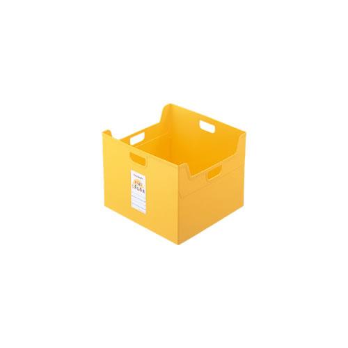 ナカバヤシ セラピーキッズカラー ファイルボックス A4ダブル キッズイエロー フボ-TCW5-KY / 12セット