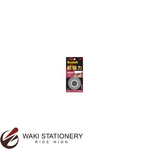 スリーエム [スコッチ / Scotch] 超強力両面テープ [粗面素材用] 薄手タイプ 0.8mm×12mm×1.5m KRO-12 / 60セット
