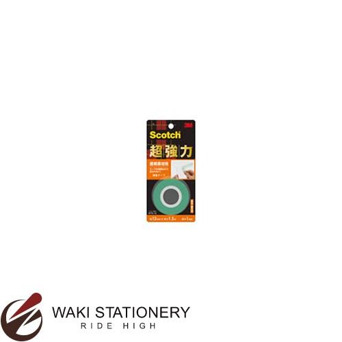 スリーエム [スコッチ / Scotch] 超強力両面テープ [透明素材用] 12mm×1.5m KTD-12 / 60セット