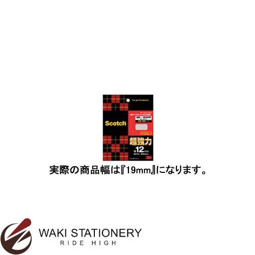 スリーエム [スコッチ / Scotch] 超強力両面テープ [金属用・一般材料用] 19mm×10m PVG-19 / 10セット