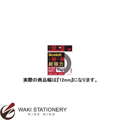 スリーエム [スコッチ / Scotch] 超強力両面テープ [金属用・一般材料用] 12mm×4m SKD-12 / 20セット