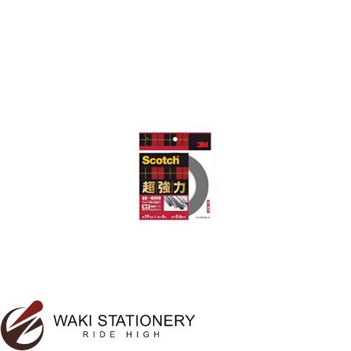 スリーエム [スコッチ / Scotch] 超強力両面テープ [金属用・一般材料用] 19mm×4m SKD-19 / 10セット