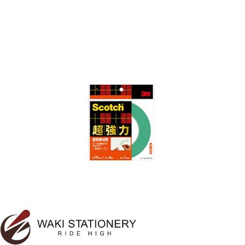 スリーエム [スコッチ / Scotch] 超強力両面テープ [透明素材用] 19mm×4m STD-19 / 10セット