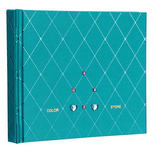 ナカバヤシ ラインストーン表紙 ギフトアルバム ミニサイズ ダイヤ ブルー アH-MB-181-2-B [アH-MB-181-2] / 10セット