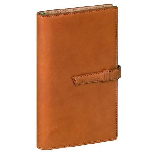 レイメイ藤井 ダ・ヴィンチ グランデ アースレザー システム手帳 聖書サイズリング15mm ブラウン DB1272C