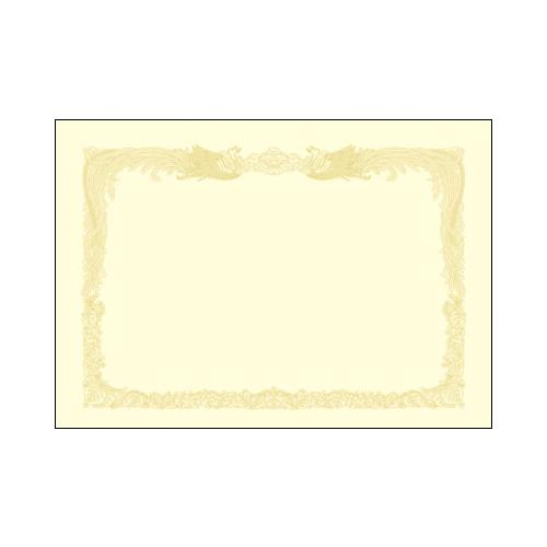 ササガワ [タカ印] 厚口OA賞状用紙 A3判 縦書用 10枚入 クリーム 10-1287 [10-128] / 10セット