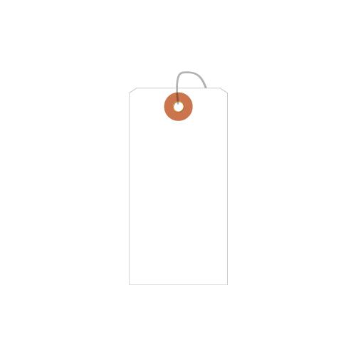 ササガワ [タカ印] ユポ荷札 中 1000枚(50枚帯×20束)入 25-1220