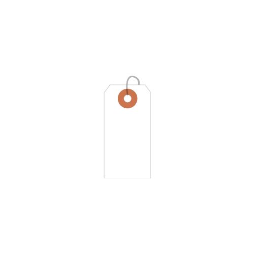 ササガワ [タカ印] 耐水紙荷札 豆 2000枚(50枚帯×40束)入 25-1310