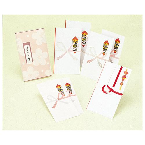 ササガワ [タカ印] ギフト用のし袋 祝セットまごころ 7枚入 タイプ2 5-152 / 30セット
