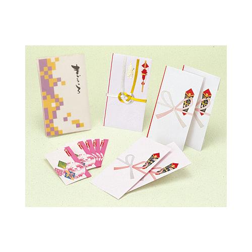 ササガワ [タカ印] ギフト用のし袋 祝セットまごころ 10枚入 タイプ1 5-251 [5-25] / 30セット