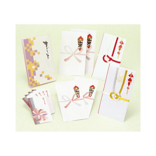 ササガワ [タカ印] ギフト用のし袋 祝セットまごころ 11枚入 タイプ1 5-351 [5-35] / 30セット