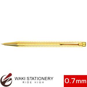 カランダッシュ シェブロン ペンシル 0.7mm ゴールドプレート ゴールド