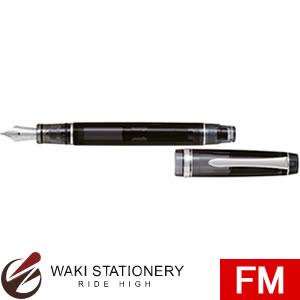 パイロット 万年筆 カスタムヘリテイジ92 FM 透明ブラック FKVH15SRS-TBFM [FKVH15SRS-TB]