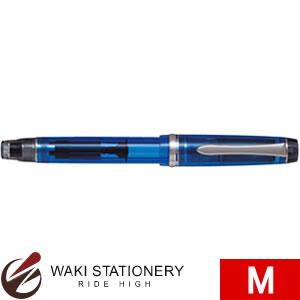パイロット 万年筆 カスタムヘリテイジ92 M 透明ブルー FKVH15SRS-TLM [FKVH15SRS-TL]