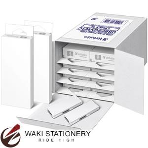 三菱化学メディア USBフラッシュメモリ フリーデザインタイプ 10個入 8GB 白 USBF8GVW1C