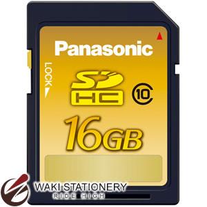 パナソニック SDHCメモリカード クラス10対応 16G RP-SDWA16GJK