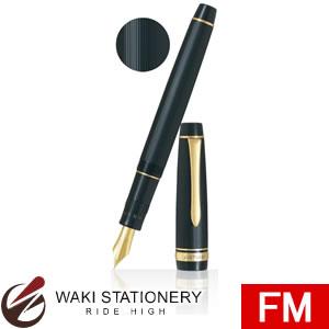 パイロット 万年筆 ジャスタス95 FM ストライプブラック FJ-3MR-SB-FM