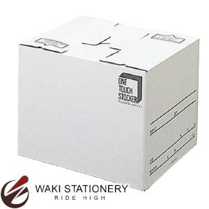 プラス ワンタッチストッカー (古紙パルプ配合率90%再生紙) [C型]差込蓋式 ホワイト A4・B4用 DN-131C 40-906 / 10セット
