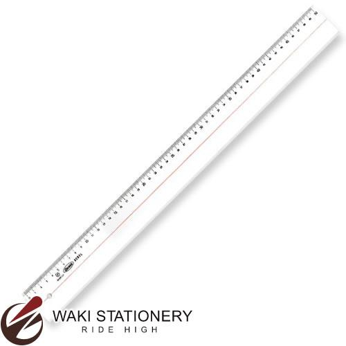 共栄プラスチック メタクリルカラー直線定規 50cm 目盛付 A-3050 / 10セット