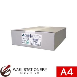 エーワン A-One レーザープリンタラベル 24面 四辺余白付 角丸 A4判 500シート 31150