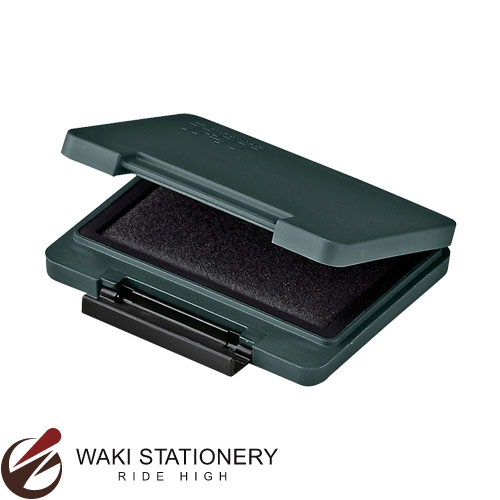 セールSALE%OFF 2点までメール便対応可 シャチハタ Shachihata 強着スタンプ台 タート 中形 プラスチック用 海外 インク色:黒 ATPN-2-K