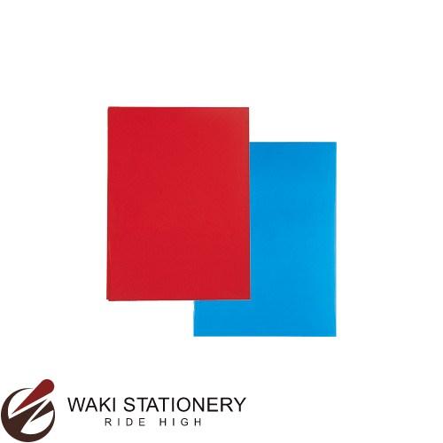 オキナ 大判カラーセロファンセット 5色各100枚入 赤・緑・青・黄・透明 CCLAS