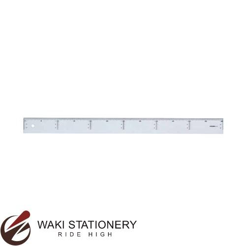 西敬 ニューアクリル定規 直線定規 60cm NA-6030 / 10セット
