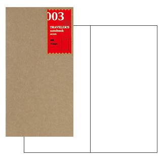 商品追加値下げ在庫復活 トラベラーズノート TRAVELER'S Notebook リフィル デザイン文具 贈物 トラベラーズ 無罫 レギュラー