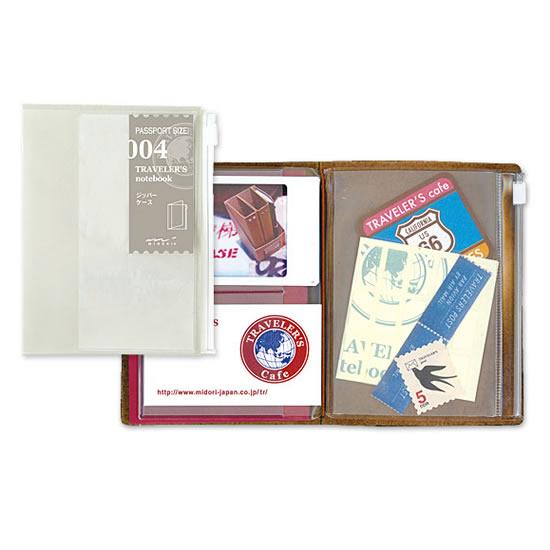 トラベラーズノート TRAVELER'S 代引き不可 Notebook パスポートサイズリフィル トラベラーズ パスポート 通販 ジッパーケース デザイン文具