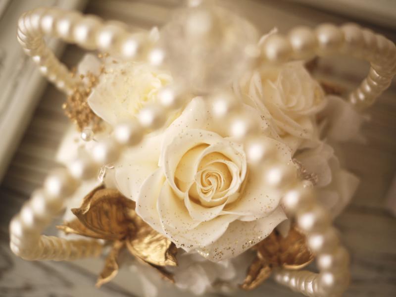 【リングピロー】プリザーブドフラワー あす楽  手作り ウェディングアイテム ブライダル小物 結婚祝い 結婚記念日 ギフト プレゼント プロポーズ サプライズ 敬老の日
