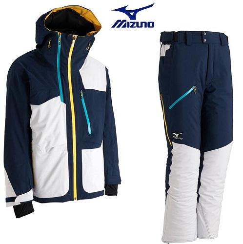 MIZUNO(ミズノ) スキーウエアKSKネクストジャケット・パンツ 上下セット2017-18モデル Z2ME734114/Z2MF734114