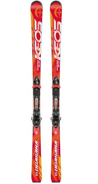 オガサカ KEO'S シリーズスキー板+ビンディング付きモデルKS-RT/RD(レッド)+チロリア PRD12 GW付 2018-19