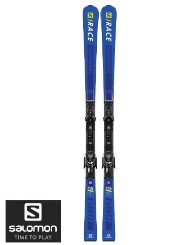 SALOMON スキー板 + ビンディング付S RACE RUSH GS + X12 TL2018-2019