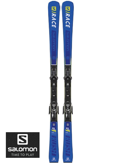 SALOMON スキー板 + ビンディング付S RACE RUSH SL + X12 TL2018-2019