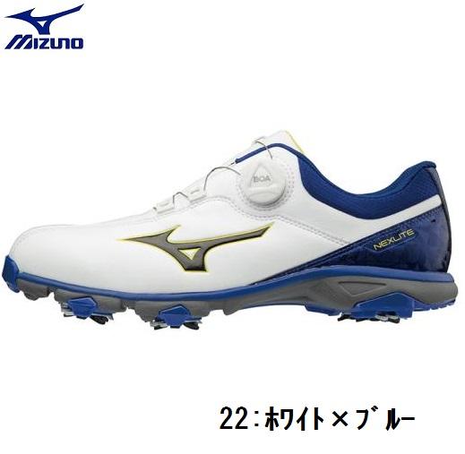 MIZUNO(ミズノ)ゴルフシューズネクスライト005ボア 3E【メンズ】2018モデル 51GM1810