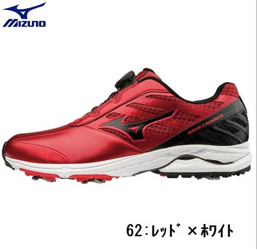 MIZUNO(ミズノ)ゴルフシューズウエーブケイデンスボア3E【メンズ】2018モデル 51GM1870