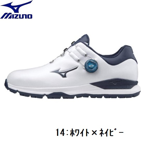 MIZUNO(ミズノ)ゴルフシューズジェネム010 スパイクレスボアEEEE(ゴルフ) 【メンズ】2020春夏モデル 51GQ2000