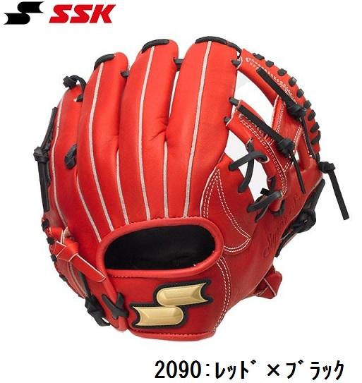 SSKエスエスケイ JR少年軟式グラブスーパーソフトシリーズ【オールラウンド用/右投げ/サイズJL】2020モデル SSJRA193