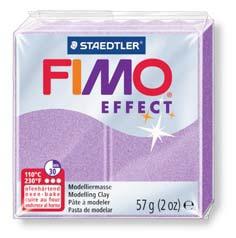 <title>納期遅延中2月下旬頃 20200207 メ可 ステッドラー CLAY FIMO オーブンクレイ フィモ エフェクト 保証 パールライラック 8020-607</title>