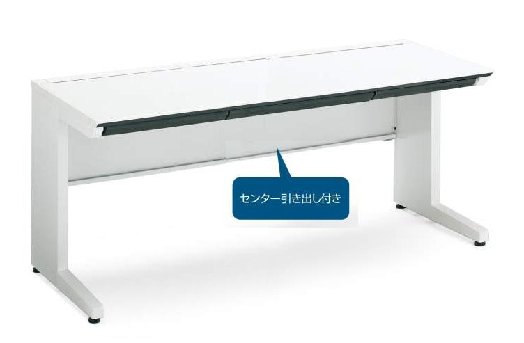 コクヨ SD-ISN147CLSPAWN iSデスクシステム スタンダードテーブル(平机)W1400 (センター引出付き)