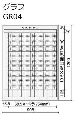 コクヨ ホワイトボード BB-H900シリーズ 壁掛け グラフ 板面W862×H1152 BB-H943W-GR04