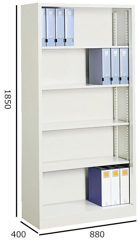 コクヨ S型保管庫 A4サイズ対応保管庫 オープンタイプ 下置き H11850 S-K370F1N