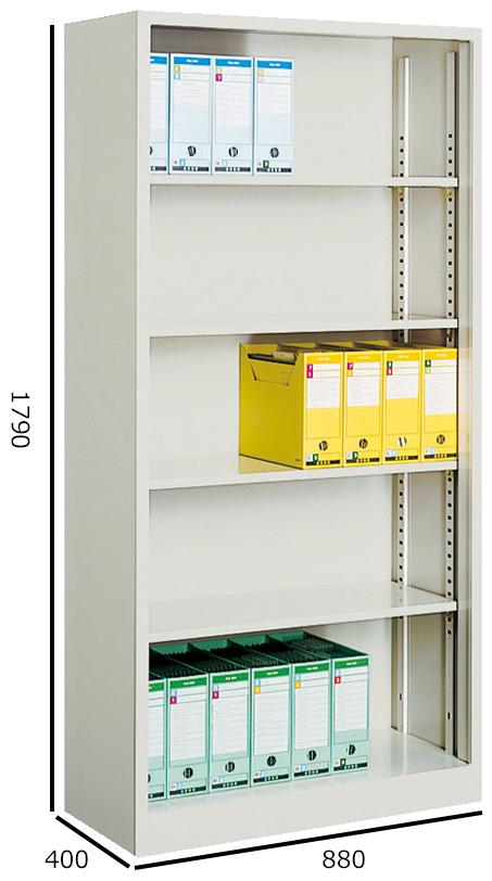 コクヨ S型保管庫 ファイルボックス収納庫 下置き H880W1790 S-K360F1N