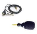 キングジム ハッキリ聴こえる音声ガイド<オプション単体> 単一指向マイク&タイピンクリップ付きコード GA-500MIC