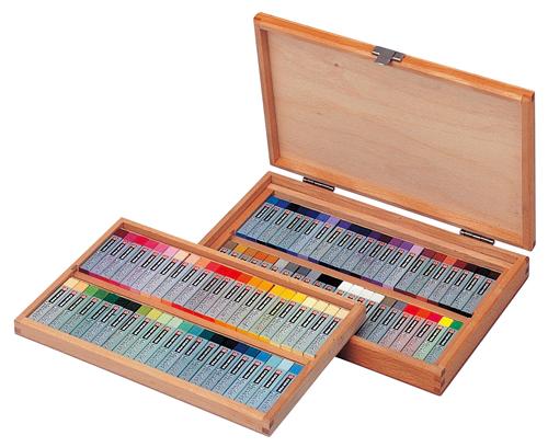 サクラクレパス クレパス スペシャリスト85色(88本入り) 木箱入り ESP88