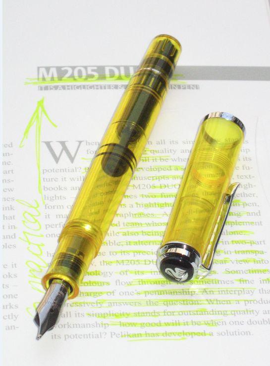 万年筆 ペリカン M205 DUO(デュオ) ペン先 BB 【送料無料】