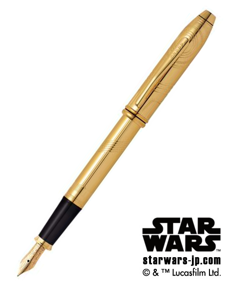 クロス 万年筆 18金ペン先 C-3PO <タウンゼント スター・ウォーズ リミテッド エディション> AT0046D-39