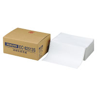 コクヨ 連伝伝票用紙 1/3単線 寸法(381.0×279.4mm) ノーカーボンブラック発色 2枚複写 1000組 EC-82513S