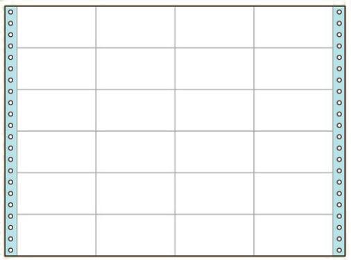 コクヨ タックフォーム ラベル寸法(88.9×46.6mm) 24片 500枚 ECL-749